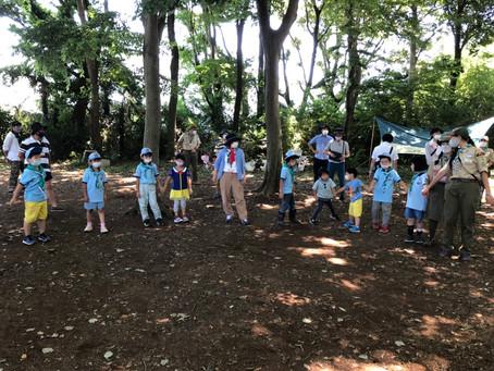 ブラウンシーの森で過ごすデーキャンプ!