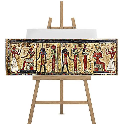 Arte Egípcia, divindade Amón-Rá