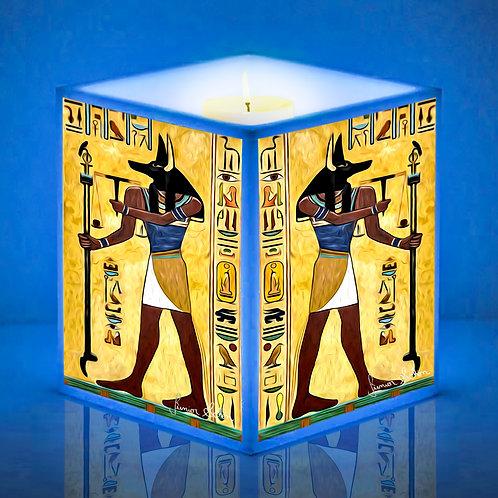 Luminárias de Vela Anúbis Egito