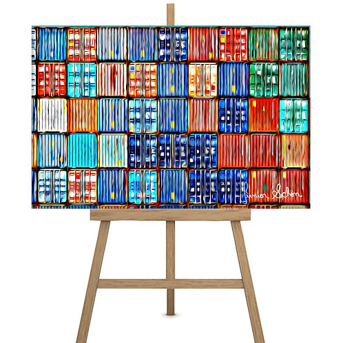 Containers  150x100cm