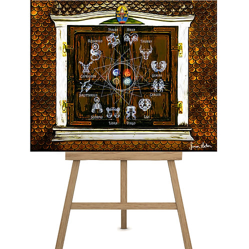 Horóscopo 4 Elementos 130x100 cm