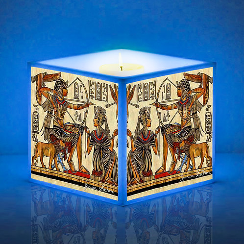 Luminária de Vela Animais Sagrados