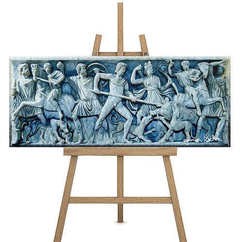Sarcófago Guerreiros 200x80 cm