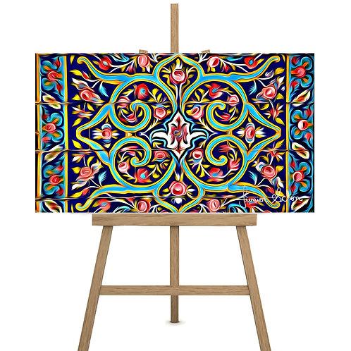 Azulejo Geométrico  175x100 cm