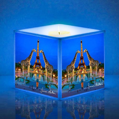 Luminária de Vela Girafas em Paris