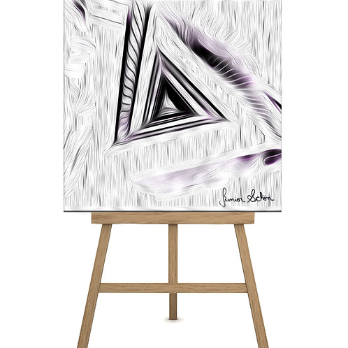 Escadarias Purple  3D  100x100cm