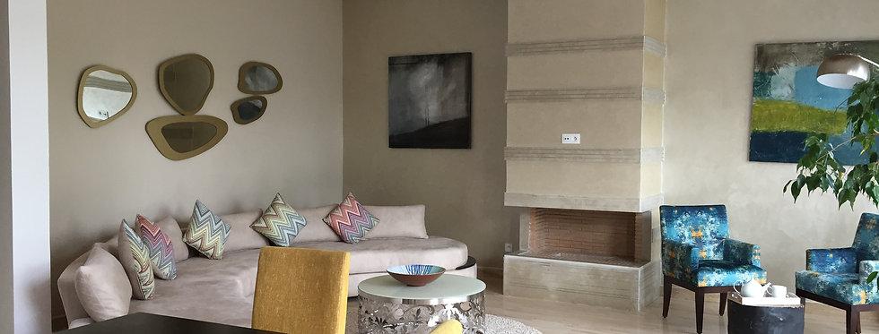 AIN DIAB Modern duplex 3 bedroom apartment in quite residence