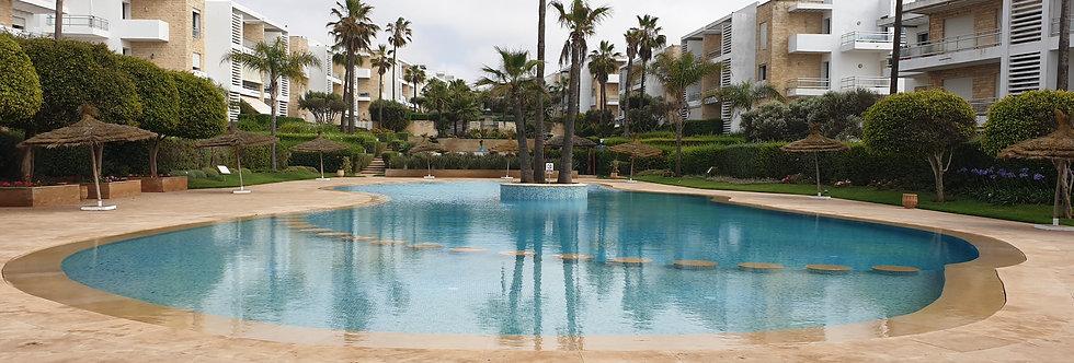 DAR BOUAZZA - Appartement 3 chambres avec jardin privé