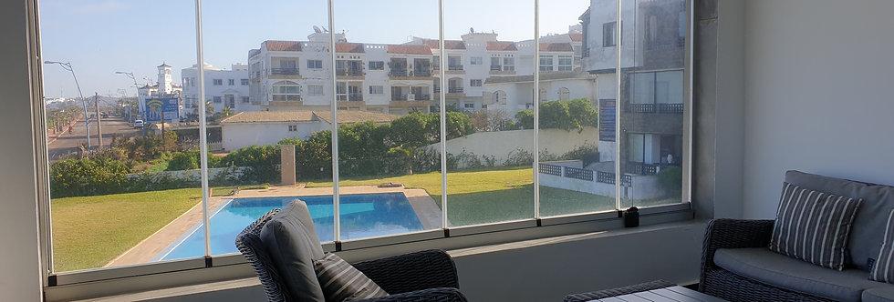 DAR BOUAZZA - Appartement 2 chambres, avec vu panoramique sur l'océan - Ref 2179