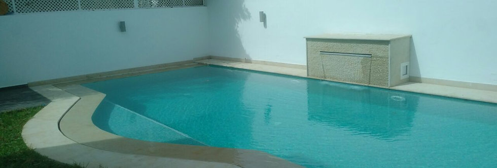 DAR BOUAZZA Villa meublée 3 chambres résidence Azur