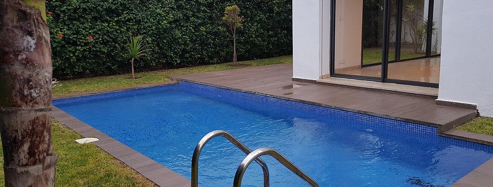 Anfa villa rent pool