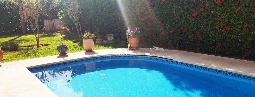 DAR BOUAZZA Four bedroom villa with sea view