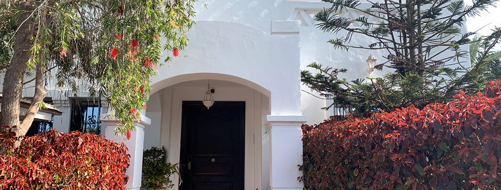 AIN DIAB - Villa 4 chambres rénovée avec jardin ensoleillé, proche Morocco Mall