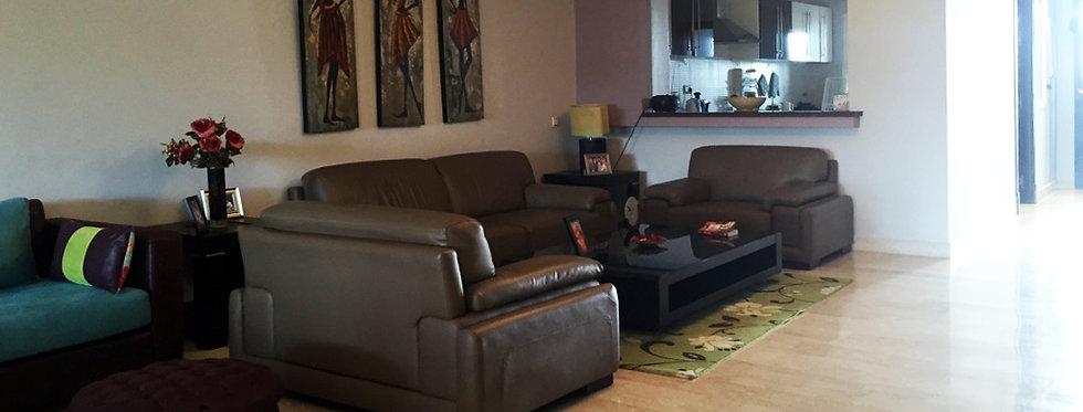 DAR BOUAZZA Villa 3 chambres, meublée à Marina Blanca
