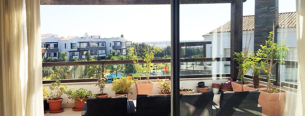 BOUSKOURA  Rare 3 bedroom luxury apartment in Residence Orée
