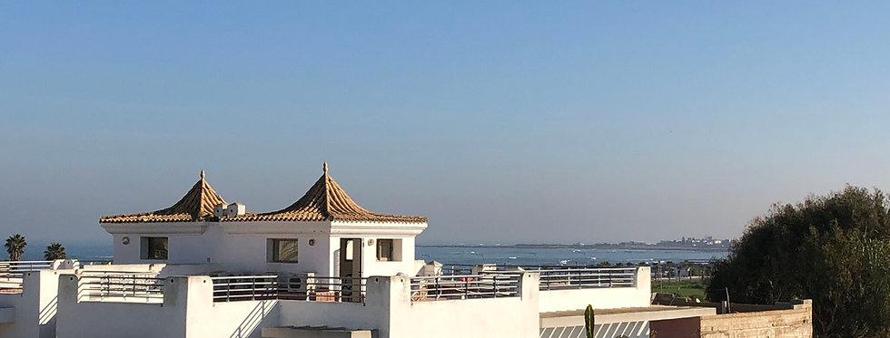 DAR BOUAZZA Villa 4 chambres vue sur mer en vente