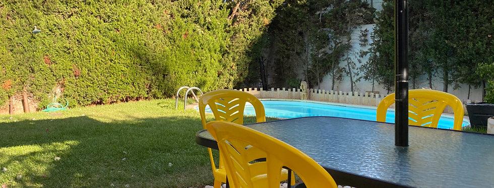 DAR BOUAZZA - Villa proche de la mer avec jardin et piscine