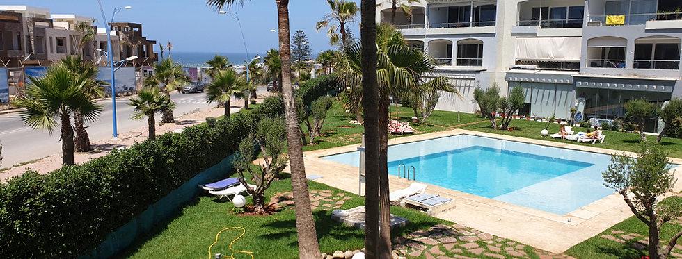 DAR BOUAZZA - Charmant appartement avec vue sur mer