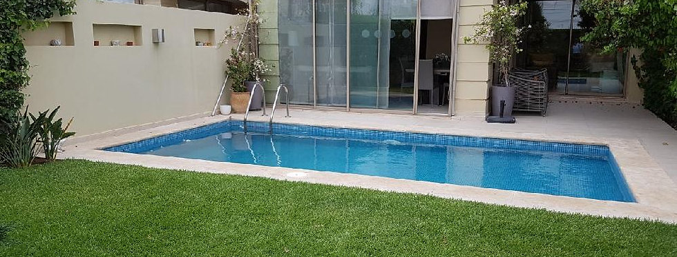 BOUSKOURA Villa on golfing estate 4 bedrooms