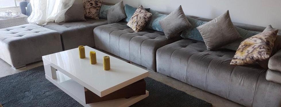 DAR BOUAZZA - Appartement meublé 1 chambre dans résidence sécurisée
