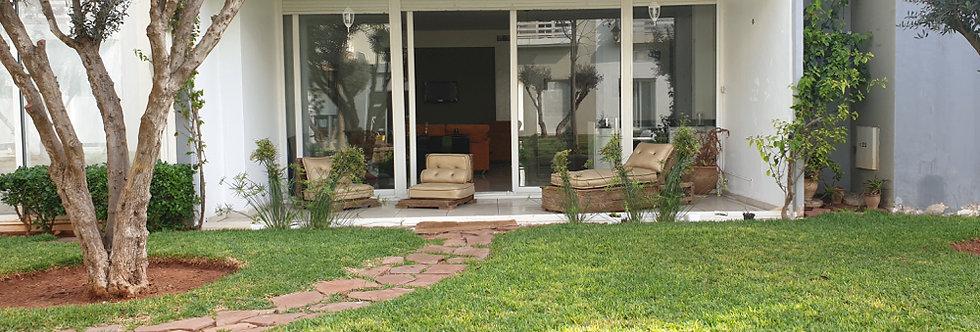 DAR BOUAZZA - Joli appartement rénové en rez-de-jardin