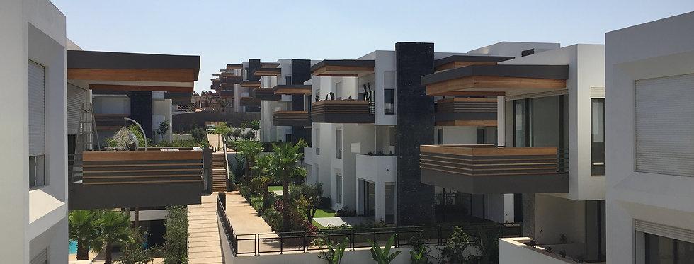RTE AZZEMOUR Duplex avec jardin, piscine et vue sur mer