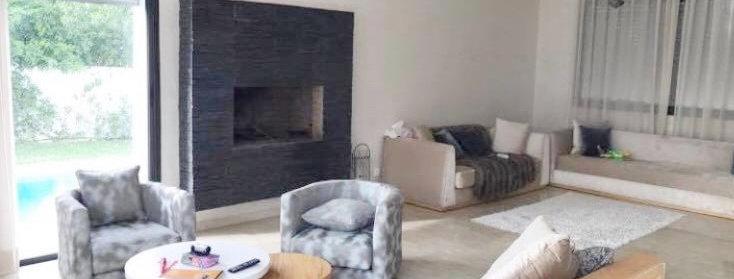 DAR BOUAZZA Villa de 378m2 dans résidence sécurisée à vendre