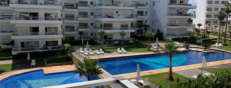 DAR BOUAZZA - Appartement 1 chambre dans résidence avec piscine