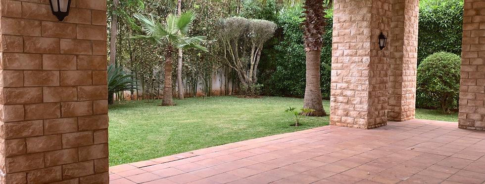 DAR BOUAZZA - Villa 4 chambres dans résidence prisée