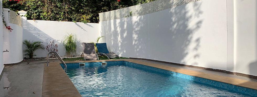 DAWLITZ - ANFA Villa avec piscine, unique dans le quartier