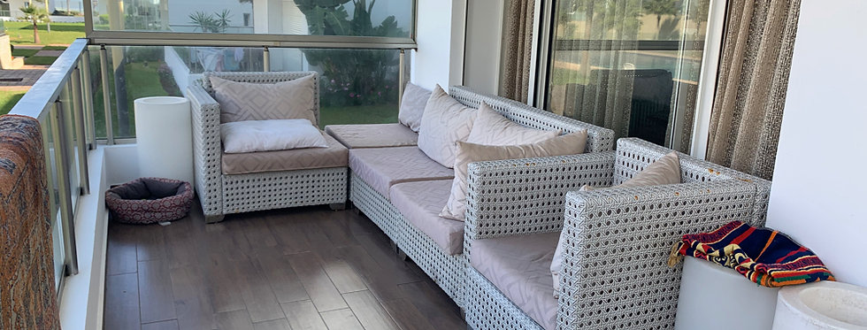 DAR BOUAZZA - Appartement 2 chambres avec immense terrasse