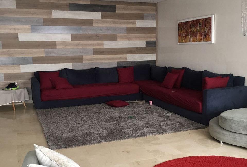 PALMIER. Appartement 3 chambres meublé