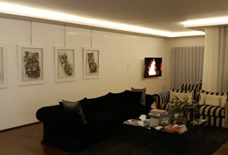DAR BOUAZZA Luxury 3bdr furnished villa in secured residence