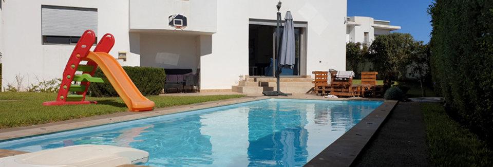 DAR BOUAZZA - Villa ensoleillée avec piscine et grand jardin
