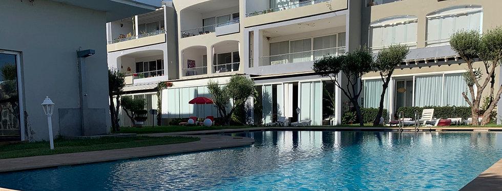 DAR BOUAZZA - Appartement meublé 2 chambres dans résidence prisée