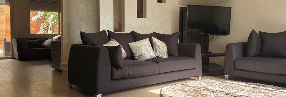 DAR BOUAZZA - Villa meublée trois chambres