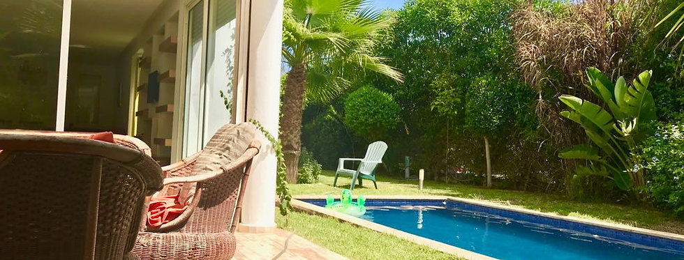 DAR BOUAZZA Cosy furnished villa in secured residence