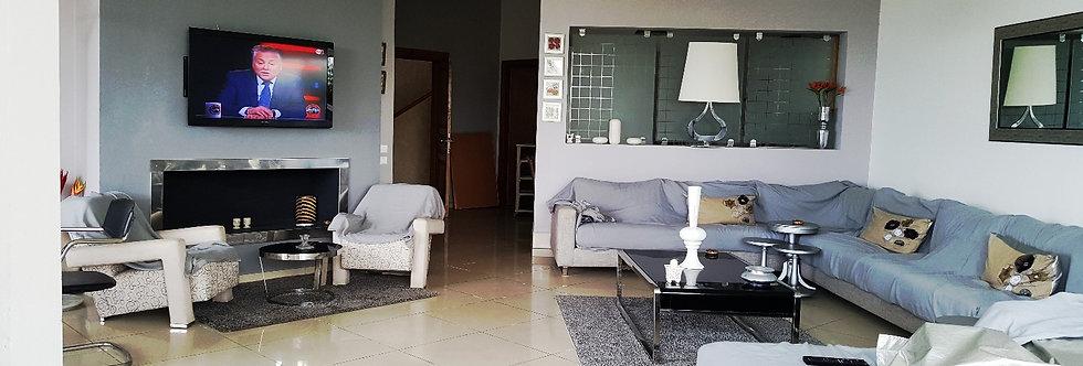 DAR BOUAZZA Superbe appartement meublé 3 chambres à Melrose