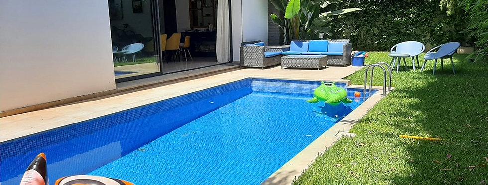 DAR BOUAZZA -  Villa ensoleillée 4 chambres avec piscine