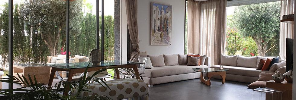 DAR BOUAZZA - Appartement meublé haut standing avec jardin