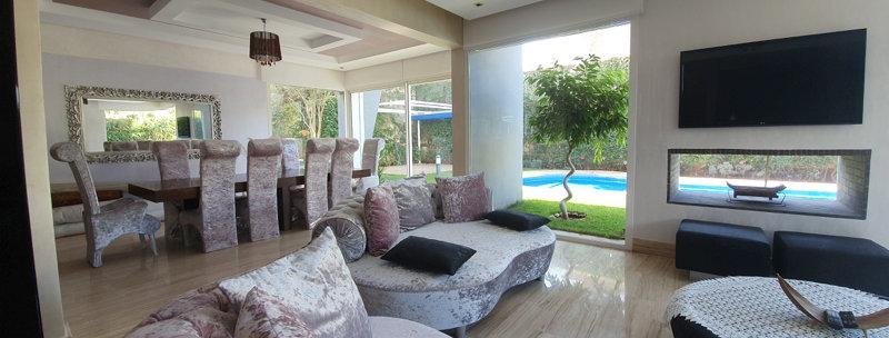 DAR BOUAZZA - Superbe villa 5 chambres meublée