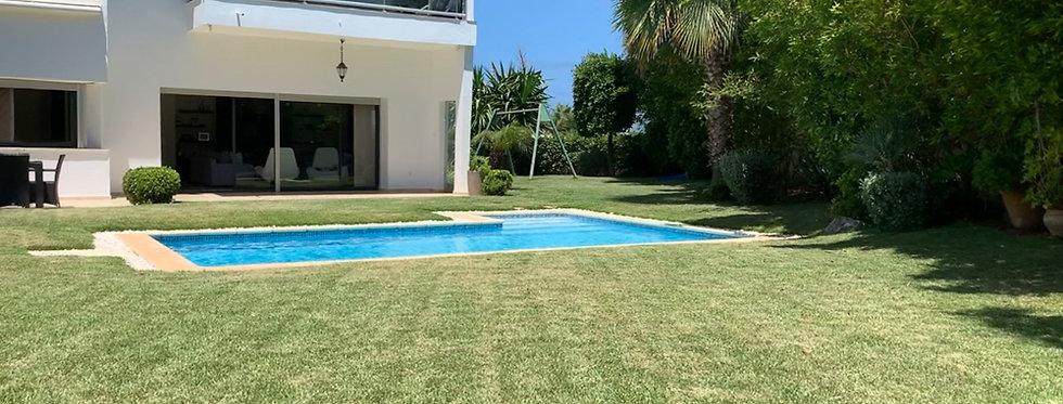 DAR BOUAZZA - Magnifique villa 4 chambres avec piscine et jardin d'exception