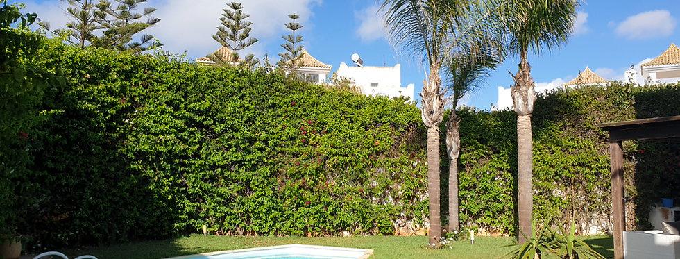 AIN DIAB - Villa 3 chambres en résidence sécurisée