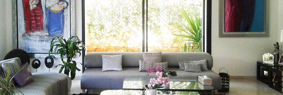 DAR BOUAZZA Belle villa meublée à l'entrée de Dar Bouazza