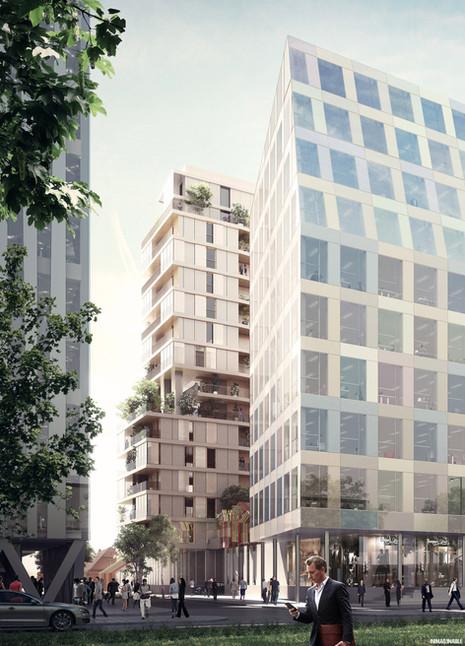 DeA + HGA - HOUSING AND OFFICES, STRASBOURG