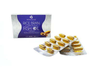 RICE BRAIN & Germ Oil Plus Fish Oil