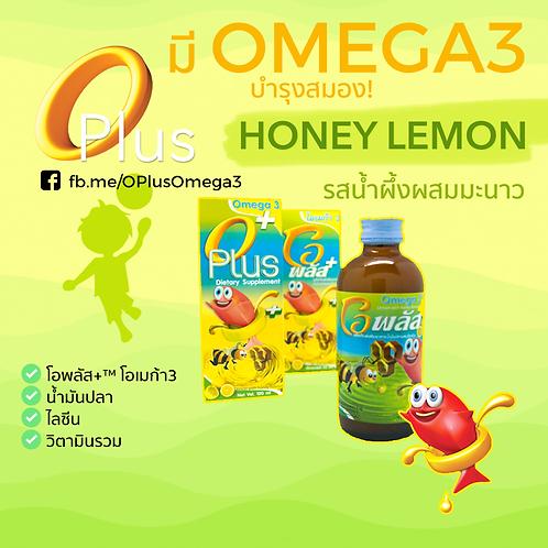 OPlus+ โอเมก้า 3 รสน้ำผึ้งมะนาว