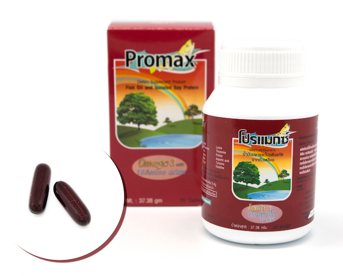 Promax Fish Oil and Isolated Soy Protein