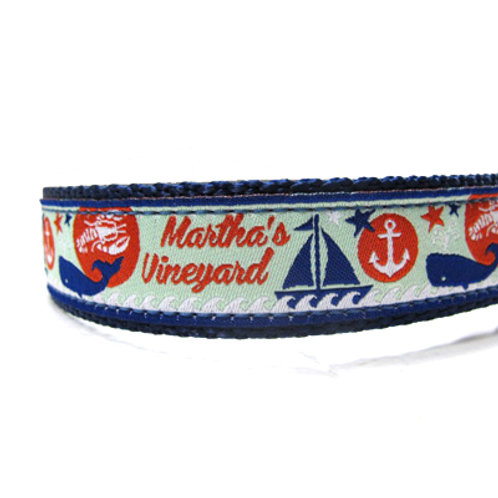 Martha's Vineyard Dog Collar