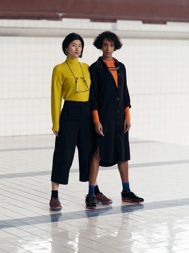 Meiling & Mijou-Eva for Franziska Siebenhaar - Photo by Jill Abanico